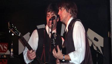paul and rod at the cavern club